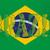 Гранж · флаг · Рио · Бразилия - Сток-фото © bigalbaloo