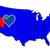Nevada · mapa · bandeira · branco · gráfico - foto stock © bigalbaloo