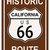 Californië · historisch · route · 66 · verkeersbord · legende · route - stockfoto © Bigalbaloo