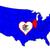 bayrak · Illinois · muhteşem · görüntü · arka · plan · kirli - stok fotoğraf © bigalbaloo