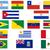 Brazylia · Urugwaj · flagi · puzzle · odizolowany · biały - zdjęcia stock © bigalbaloo