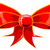 piros · arany · ajándék · szatén · íj · szalagok - stock fotó © bigalbaloo