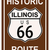 Illinois · historisch · route · 66 · verkeersbord · legende · route - stockfoto © Bigalbaloo