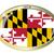 Maryland · düğme · amerikan · bayrağı · web · tasarım · stil · yalıtılmış - stok fotoğraf © bigalbaloo
