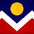 bandeira · Colorado · vento · negócio · fundo - foto stock © bigalbaloo