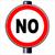 nie · ruchu · czerwony · podpisania · znak · drogowy - zdjęcia stock © bigalbaloo