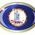 Virginie · bouton · drapeau · américain · web · design · style - photo stock © bigalbaloo