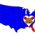 vlag · Florida · geschilderd · houten · textuur - stockfoto © bigalbaloo