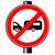 caravan traffic sign stock photo © bigalbaloo