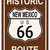 New · Mexico · historisch · route · 66 · verkeersbord · legende · route - stockfoto © Bigalbaloo