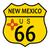 ルート66 · 午前 · 影 · 西部 · アリゾナ州 · 道路 - ストックフォト © bigalbaloo