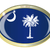 south carolina state flag oval button stock photo © bigalbaloo