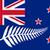 plata · helecho · Nueva · Zelandia · silueta · emblema · blanco - foto stock © bigalbaloo