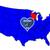Wisconsin · térkép · kép · renderelt · mű · használt - stock fotó © bigalbaloo