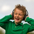 szczęśliwy · dziecko · słuchanie · muzyki · stereo · słuchawki - zdjęcia stock © bigandt