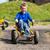 fiatal · srác · vezetés · kosár · fiú · szórakozás · gyerekek - stock fotó © bigandt