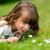 детей · увеличительное · стекло · небе · цветы · девушки · трава - Сток-фото © bigandt