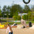 girl dragging flying fox stock photo © bigandt