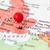 mappa · Europa · gran · bretagna · isola · euro · paese - foto d'archivio © bigandt