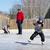 family at a skating rink stock photo © bigjohn36