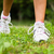 corredor · ejecutando · zapatos · mujer · femenino · correr - foto stock © bigjohn36