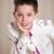 młody · chłopak · głowie · strony · pierwszy · święty - zdjęcia stock © BigKnell