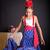 若い女の子 · フラメンコ · ダンス · 黒 · 少女 · バラ - ストックフォト © BigKnell