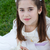 młoda · dziewczyna · pierwsza · komunia · modlitwy · książki · pierwszy - zdjęcia stock © BigKnell