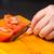 hámozott · paradicsomok · előkészítés · serpenyő · mártás · paradicsom - stock fotó © bigknell