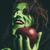 kötü · cadı · gülme · yeşil · elma - stok fotoğraf © BigKnell