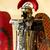 páncél · fej · ló · középkori · lovag - stock fotó © bigknell