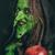 kötü · cadı · kirli · dişler · yeşil · uzun · saçlı - stok fotoğraf © BigKnell