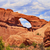 red brown skyline arch rock canyon arches national park moab uta stock photo © billperry
