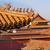 çatı · heykelcik · sarı · çatılar · yasak · Şehir · saray - stok fotoğraf © billperry