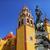 béke · szobor · hölgy · bazilika · éjszaka · Mexikó - stock fotó © billperry