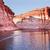 rosa · Schlitz · Canyon · Reflexion · See · Arizona - stock foto © billperry
