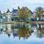 rivier · dorp · holland · oude · platteland · landschap - stockfoto © billperry