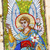 angel mosaic holy assumption pechrsk lavra cathedral kiev ukrain stock photo © billperry