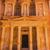 yellow golden treasury morning siq petra jordan stock photo © billperry