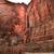 templo · cachoeira · vermelho · rocha · parede · virgem - foto stock © billperry