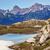 reflexão · montanhas · grama · floresta · natureza · fundo - foto stock © billperry