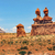 three sisters hoodoos goblin valley state park rock canyon utah stock photo © billperry