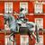 kare · Madrid · İspanya · heykel · ev - stok fotoğraf © billperry