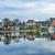 boot · nederlands · dorp · water · bruggen · architectuur - stockfoto © billperry
