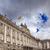 ロイヤル · 宮殿 · 雲 · 空 · 景観 · スペイン国旗 - ストックフォト © billperry