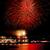 piros · zöld · tűzijáték · Vancouver · kikötő · brit - stock fotó © billperry