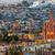 Mexico · nacht · kerk · kerken · huizen - stockfoto © billperry