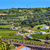 castle walls orange roofs farmland countryside obidos portugal stock photo © billperry