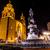 paix · statue · dame · basilique · nuit · Mexique - photo stock © billperry