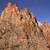 red rock cliff court of patricarchs zion canyon national park ut stock photo © billperry